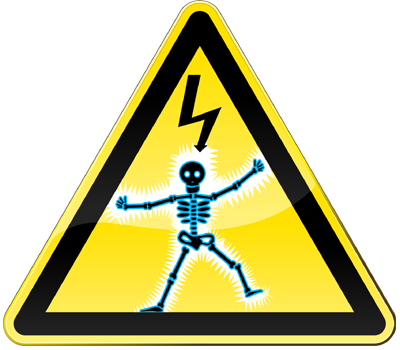 Shock Warning logo