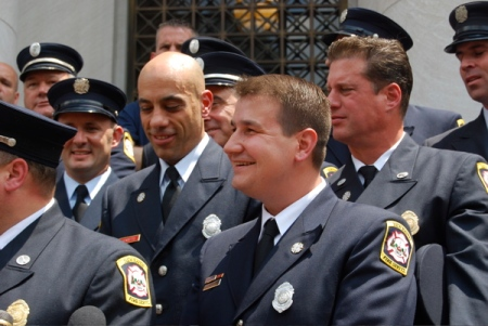 Ricci firefighters