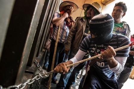 WSJ striking teachers in Mexico