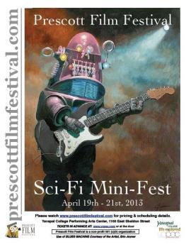 Sci-Fi fest poster
