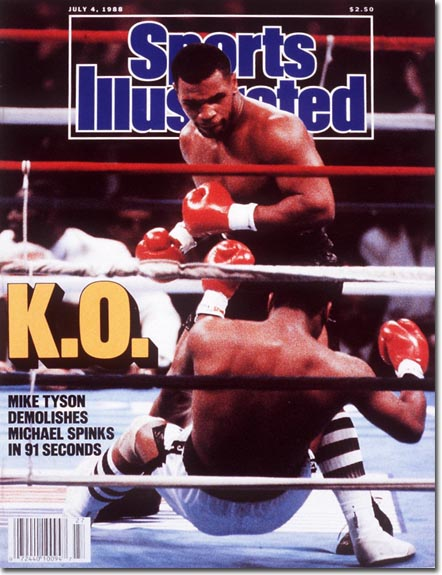 Tyson-Spinks SI cover