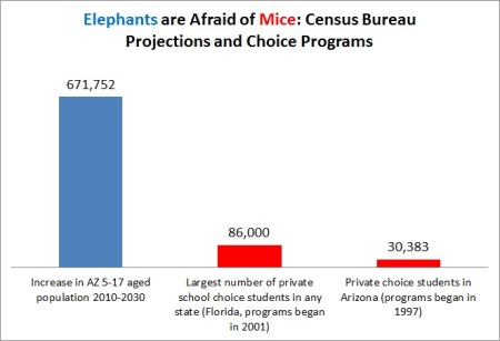 Elephants are afraid of mice