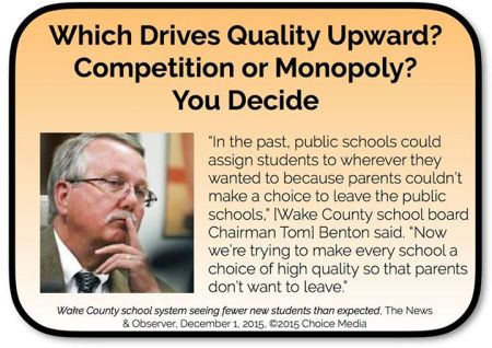 Competition Benefits Public Schools
